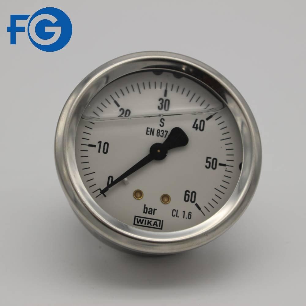 Wika norma en 837-1 manómetro